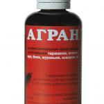 Агран – инсектицид от клопов, условия использования препарата