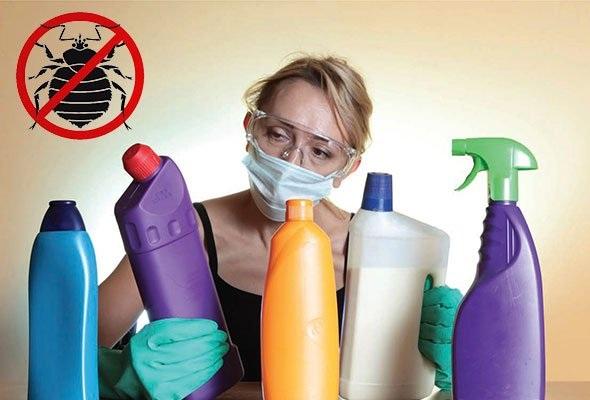 Даже при использовании средств без запаха не забывайте о технике безопасности