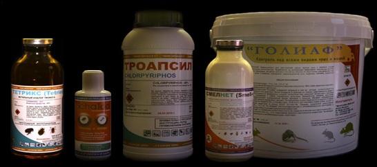 Химические средства от грызунов