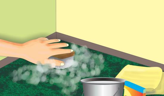 Для очистки помещения нужно сделать генеральную уборку