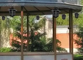 Развешенные лампы МК-009