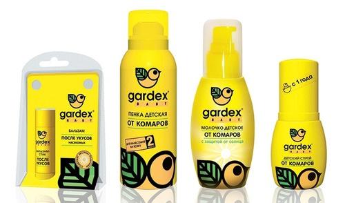 Детские средства Gardex