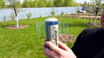 тпугиватель кротов из банки пива