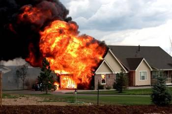 уничтожение шершня огнём